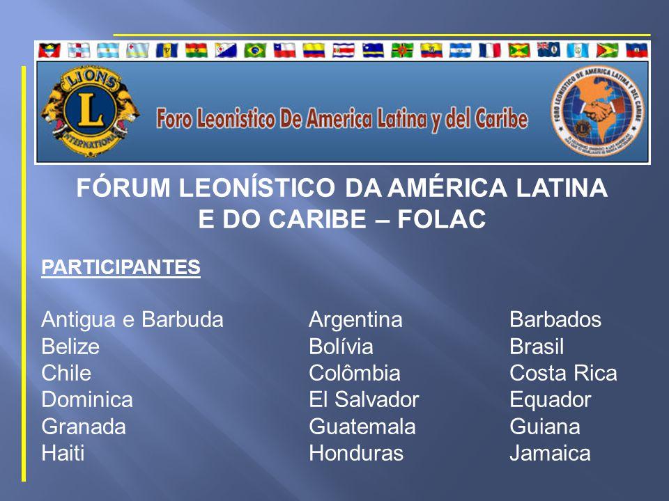 FÓRUM LEONÍSTICO DA AMÉRICA LATINA E DO CARIBE – FOLAC DATAS 40ª.