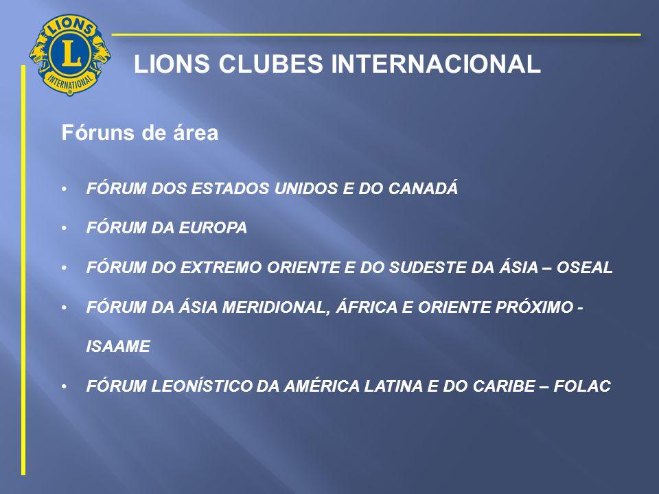 INSTITUTO MELVIN JONES DE ESTUDOS LEONÍSTICOS DISTRITO LC-1 FÓRUNS INTERNACIONAIS DE LIONS CLUBES PCC ARMÊNIO S.