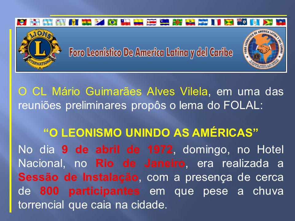 Mas as coisas não seriam fáceis: Lions Internacional, por intermédio do Diretor Internacional, Talvani Sanfin Cardoso, manifestava sua desaprovação, não endossando a iniciativa.