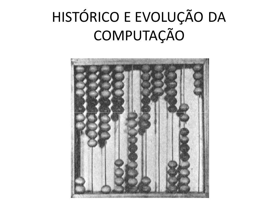 HISTÓRICO E EVOLUÇÃO DA COMPUTAÇÃO