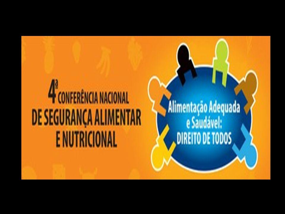 Eixos Temáticos das conferências Eixo 1 - Avanços, ameaças e perspectivas para a efetivação do direito humano à alimentação adequada e saudável e a soberania alimentar.