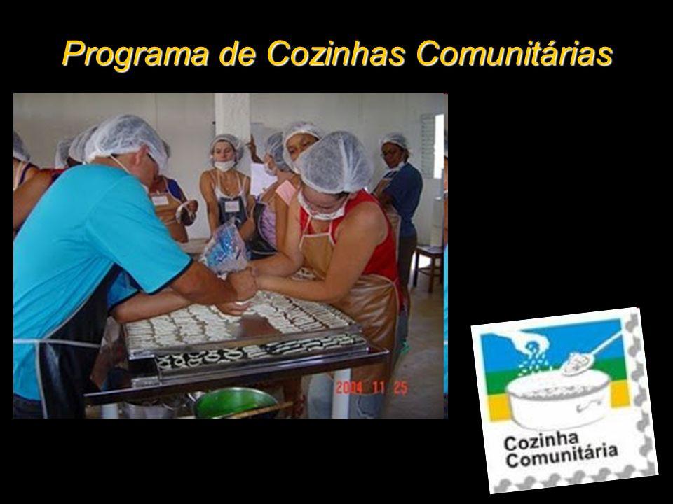 Programa de Cozinhas Comunitárias