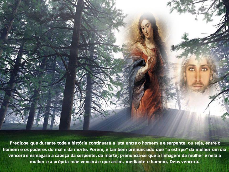 Maria é o Israel santo; ela diz