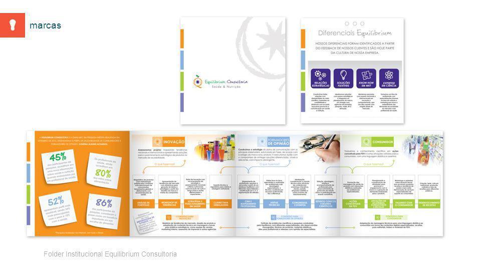 Folder Institucional Equilibrium Consultoria marcas