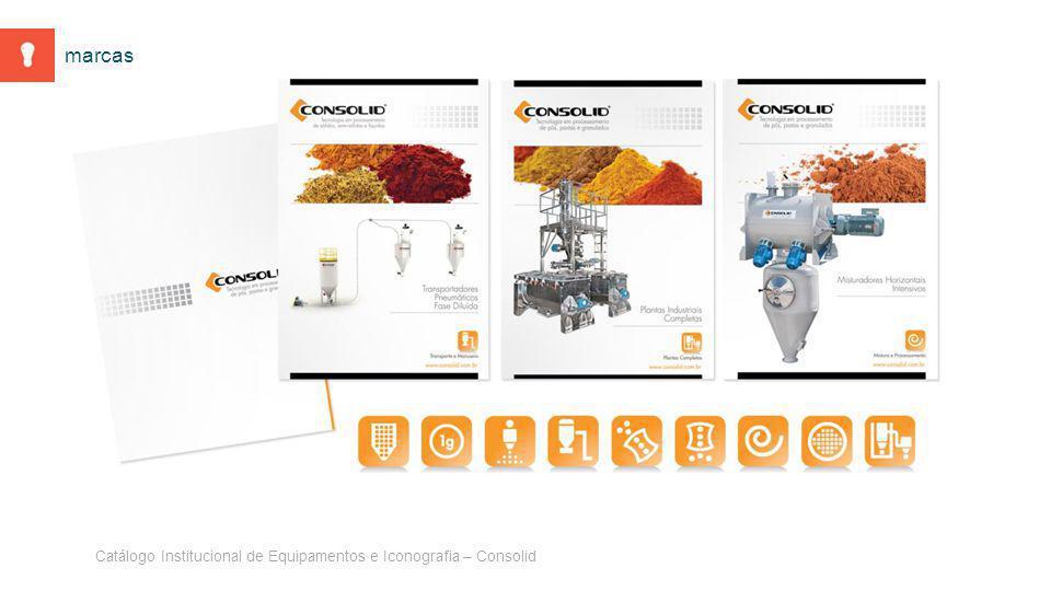 Catálogo Institucional de Equipamentos e Iconografia – Consolid marcas