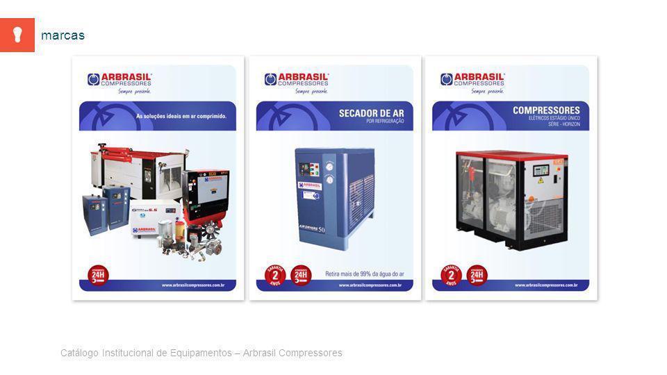 Catálogo Institucional de Equipamentos – Arbrasil Compressores marcas