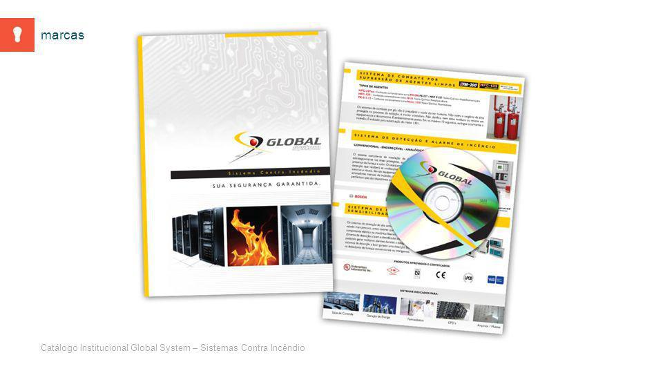 Catálogo Institucional Global System – Sistemas Contra Incêndio marcas