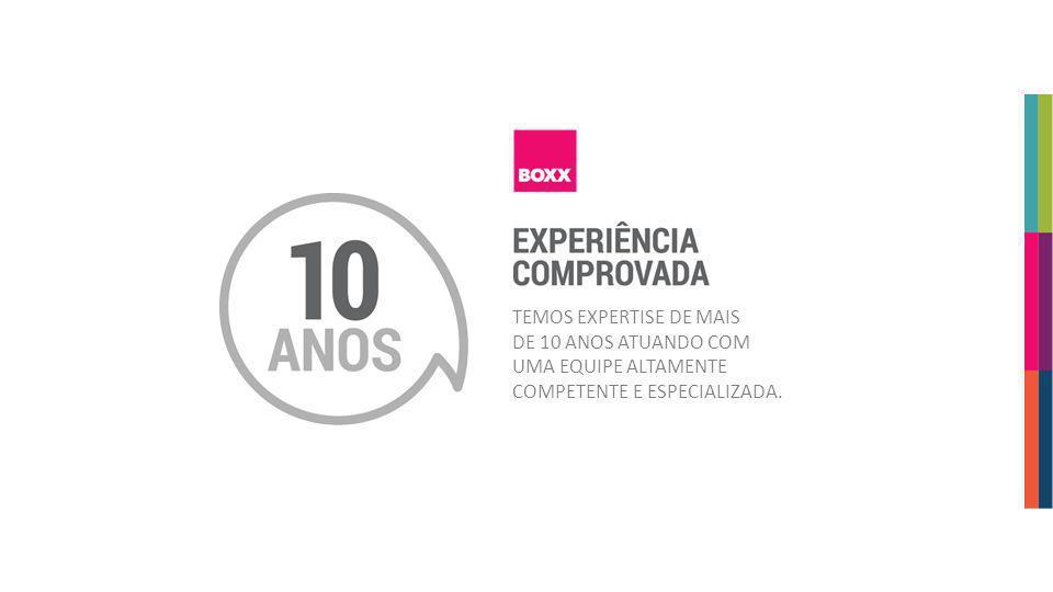 agenciabox.com.br TEMOS EXPERTISE DE MAIS DE 10 ANOS ATUANDO COM UMA EQUIPE ALTAMENTE COMPETENTE E ESPECIALIZADA.