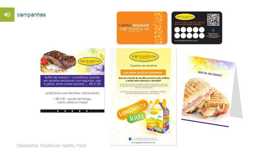 Campanhas Equilibrium Healthy Food campanhas