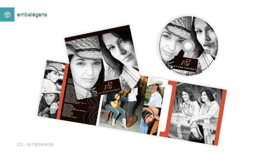 CD - As Pantaneiras embalagens