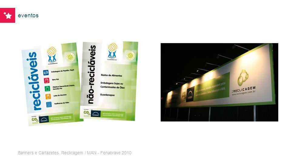 eventos Banners e Cartazetes. Reclicagem / MAN - Fenabrave 2010