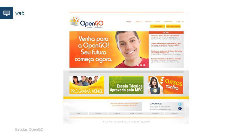 web Escolas OpenGO