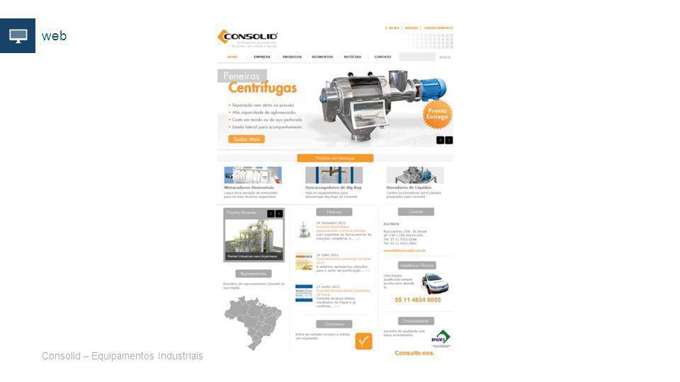 web Consolid – Equipamentos Industriais