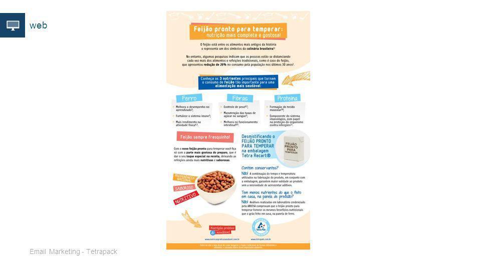 web Email Marketing - Tetrapack