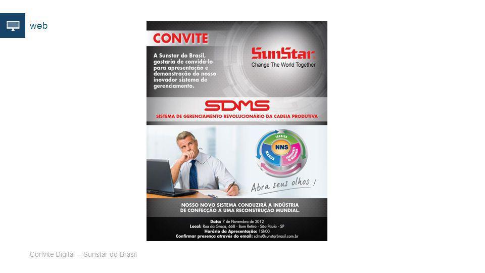 web Convite Digital – Sunstar do Brasil