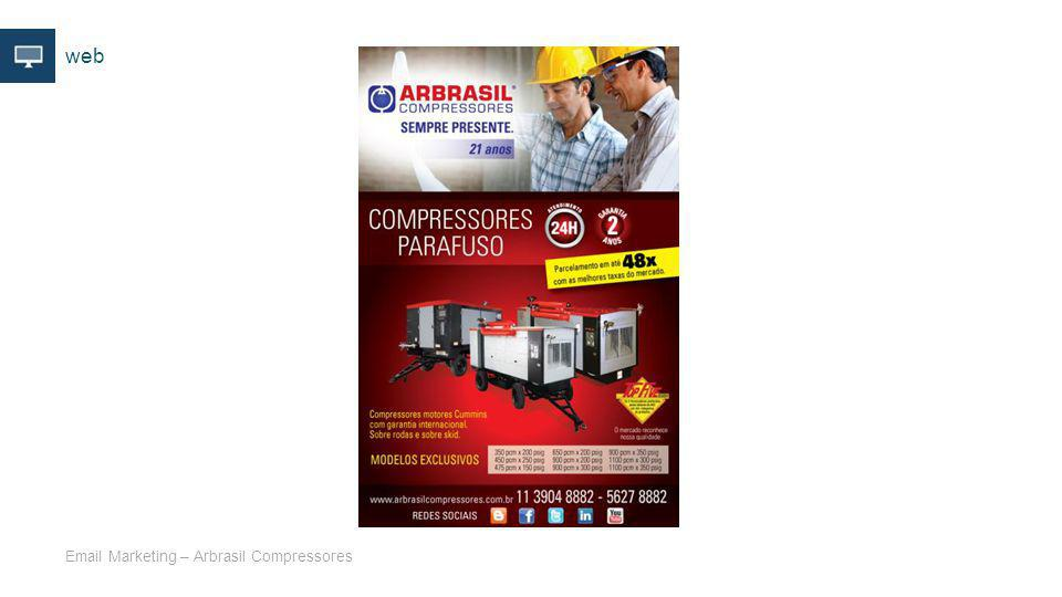 web Email Marketing – Arbrasil Compressores