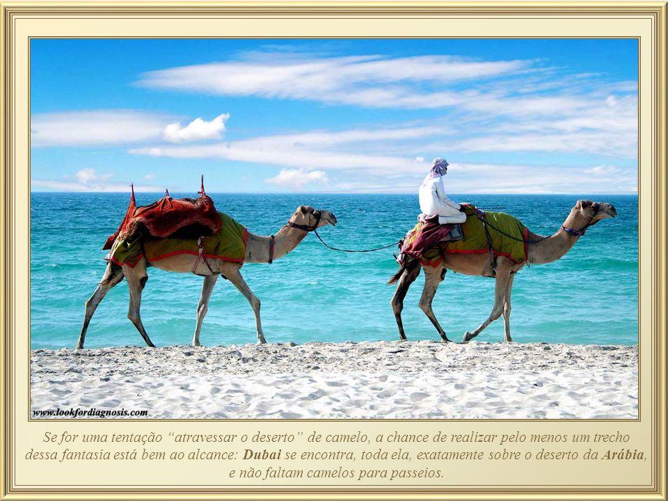 Passar alguns dias em Dubai gastando como se tivesse se hospedado por 1001 noites, não desanima o turista de curtir o sol na praia de Jumeirah a preço