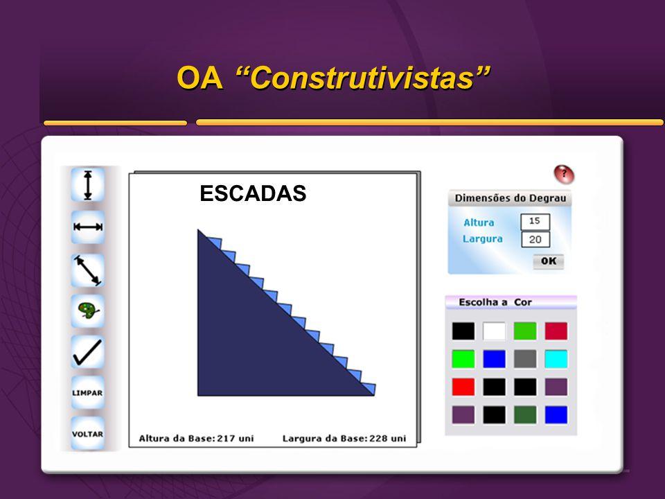 """OA """"Construtivistas"""" ESCADAS"""