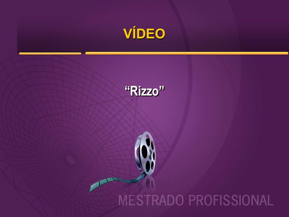 """VÍDEO """"Rizzo"""""""