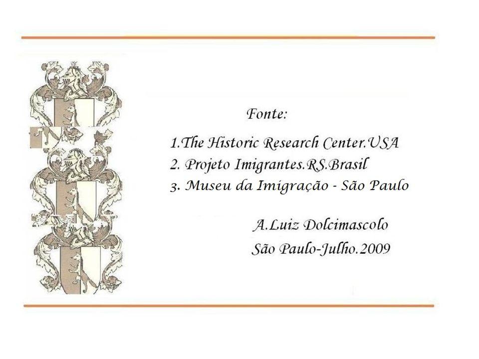 Famiglia Dolcimascolo 2013 110 anos Brasil Música: - Romance Siciliano - Capriccio Italiano Orq.