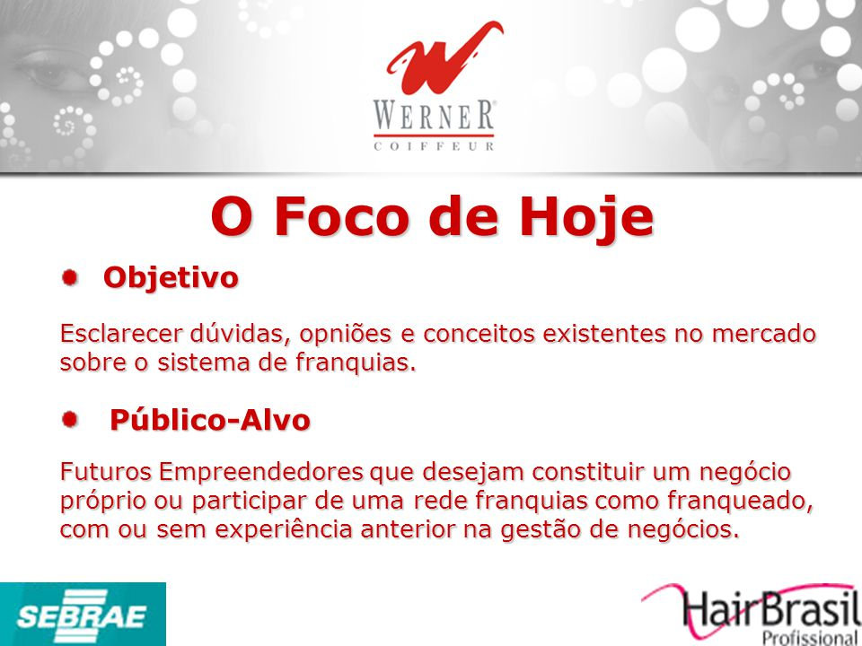 O Mercado Brasileiro O que é Franquia.A Lei do Franchising Como Avaliar o Negócio.
