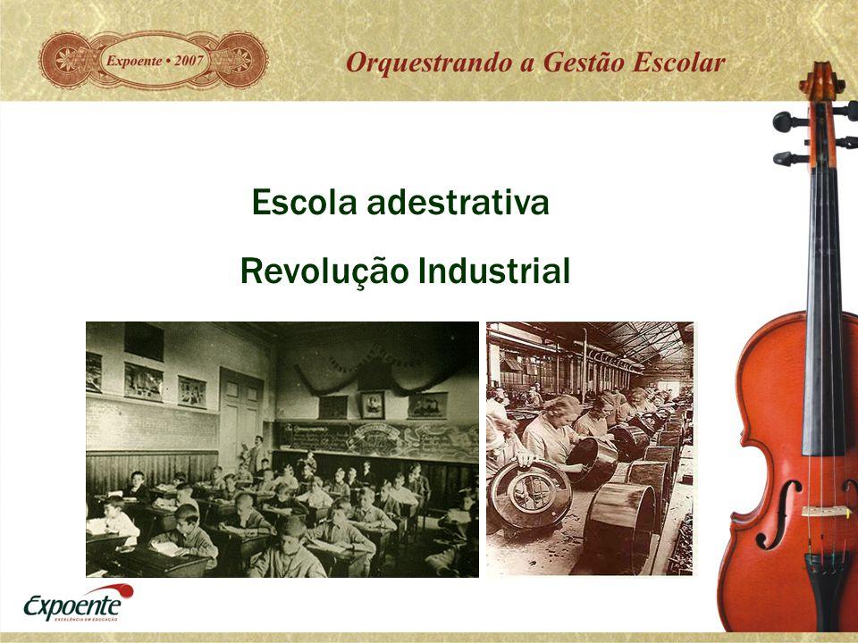Escola adestrativa Revolução Industrial