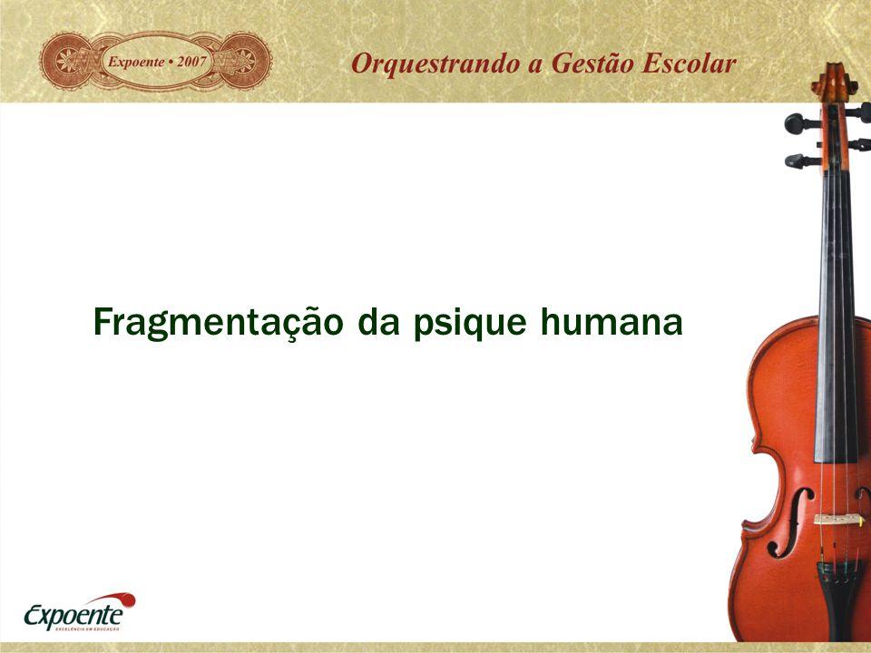 Fragmentação da psique humana