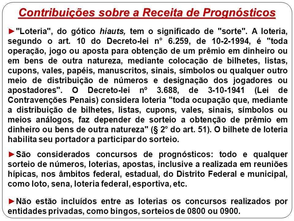 Contribuições sobre a Receita de Prognósticos ►