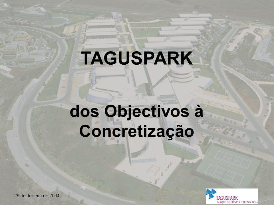 26 de Janeiro de 2004 Importância do contributo da instalação no Taguspark