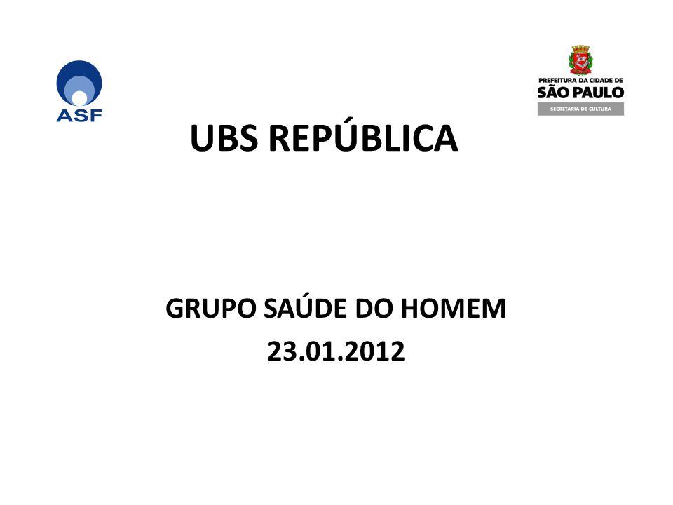 UBS REPÚBLICA GRUPO SAÚDE DO HOMEM 23.01.2012