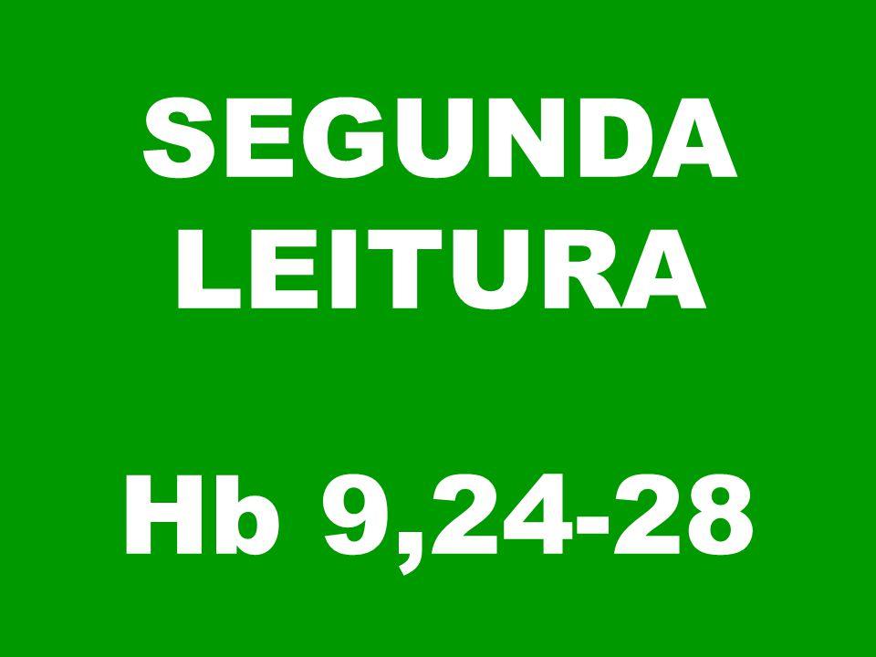 SEGUNDA LEITURA Hb 9,24-28