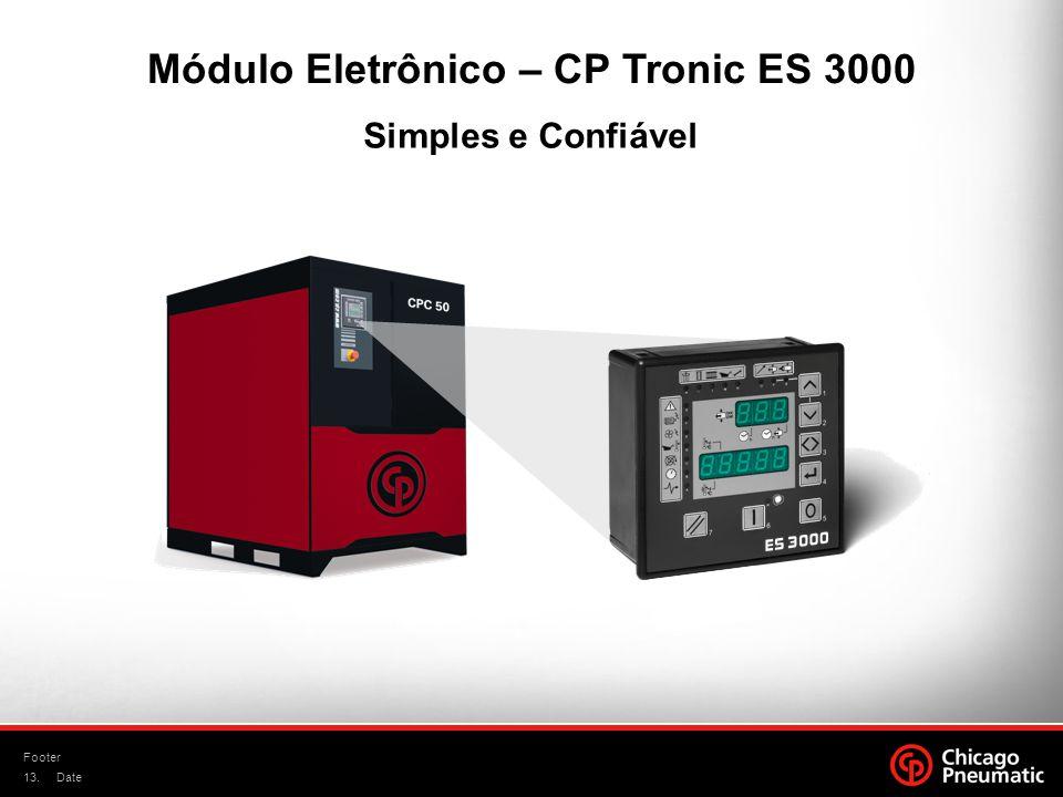 13. Footer Date Simples e Confiável Módulo Eletrônico – CP Tronic ES 3000