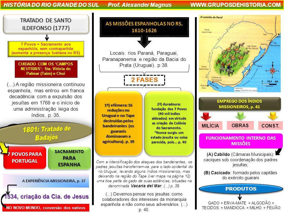 NO NOVO MUNDO, conversão dos nativos 1534, criação da Cia.