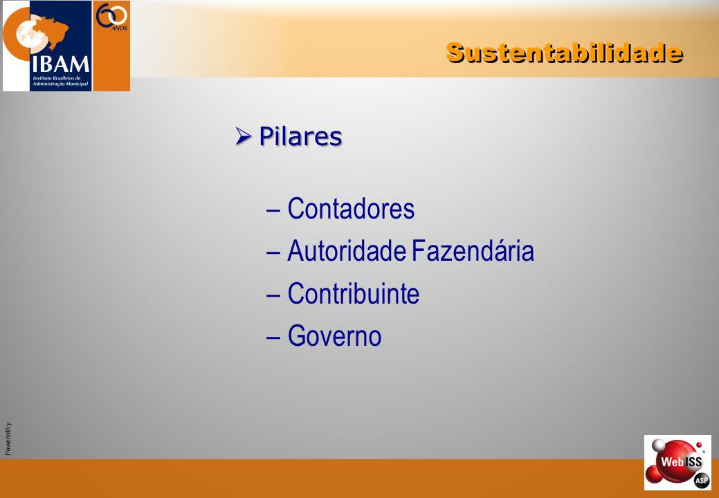Powered by  Pilares –Contadores –Autoridade Fazendária –Contribuinte –Governo Sustentabilidade