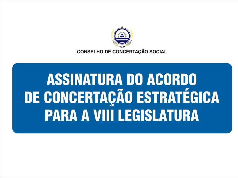 VIII – Administração do Trabalho Assume-se como fundamental : A flexibilização da legislação laboral; A regulamentação do Código Laboral Cabo- verdiano.
