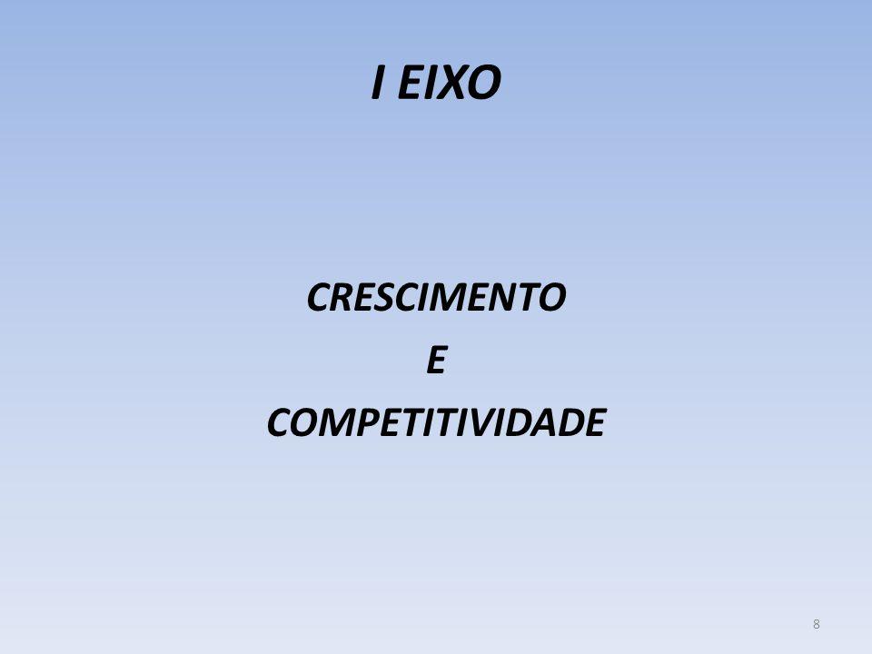 I EIXO CRESCIMENTO E COMPETITIVIDADE 8