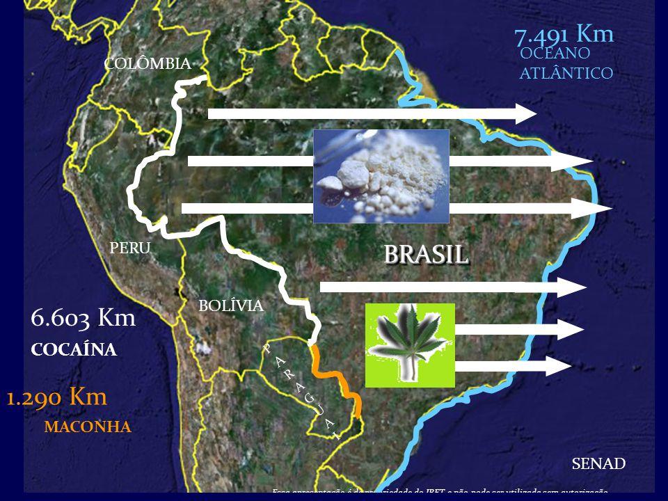 Os Fatos 70% das vitimas fatais de acidentes de transito tinham consumido álcool ou drogas (IML-SP, 2002) Desde 2008, o consumo de cocaína/crack tem superado todas as outras drogas nas empresas no Brasil.