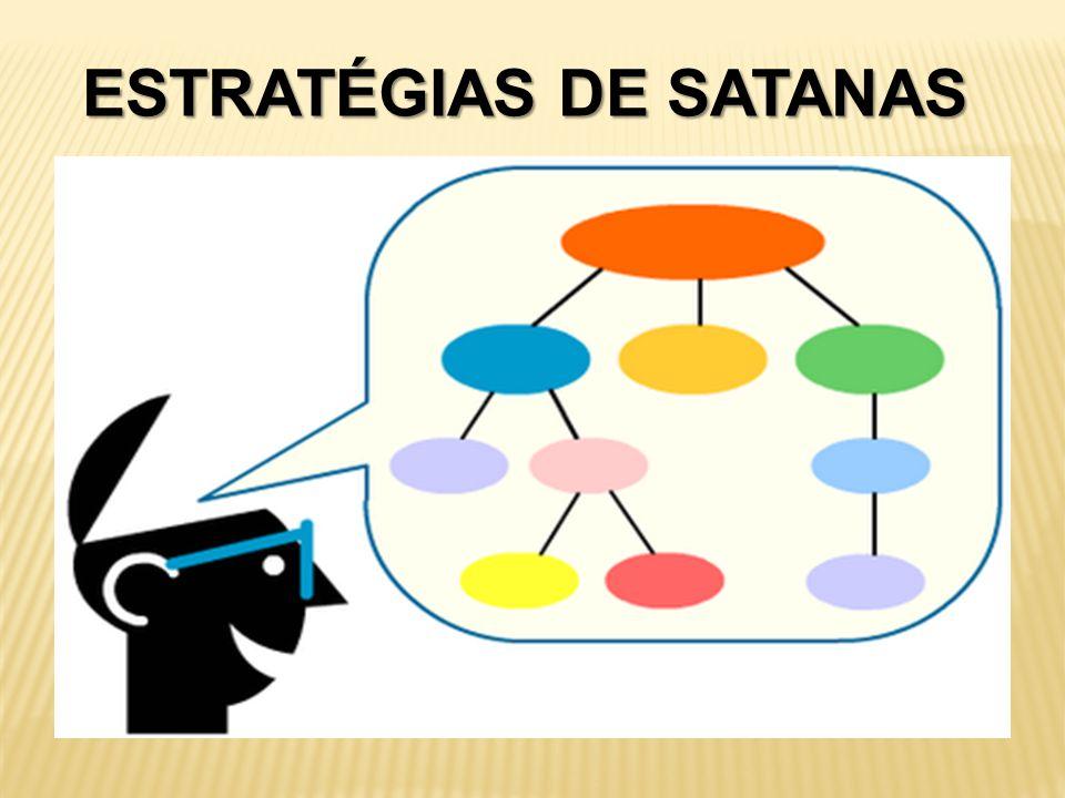 ESTRATÉGIAS DE SATANAS