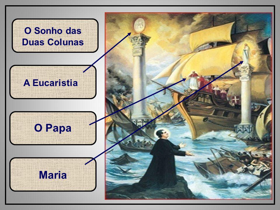 51 A Eucaristia O Papa Maria O Sonho das Duas Colunas
