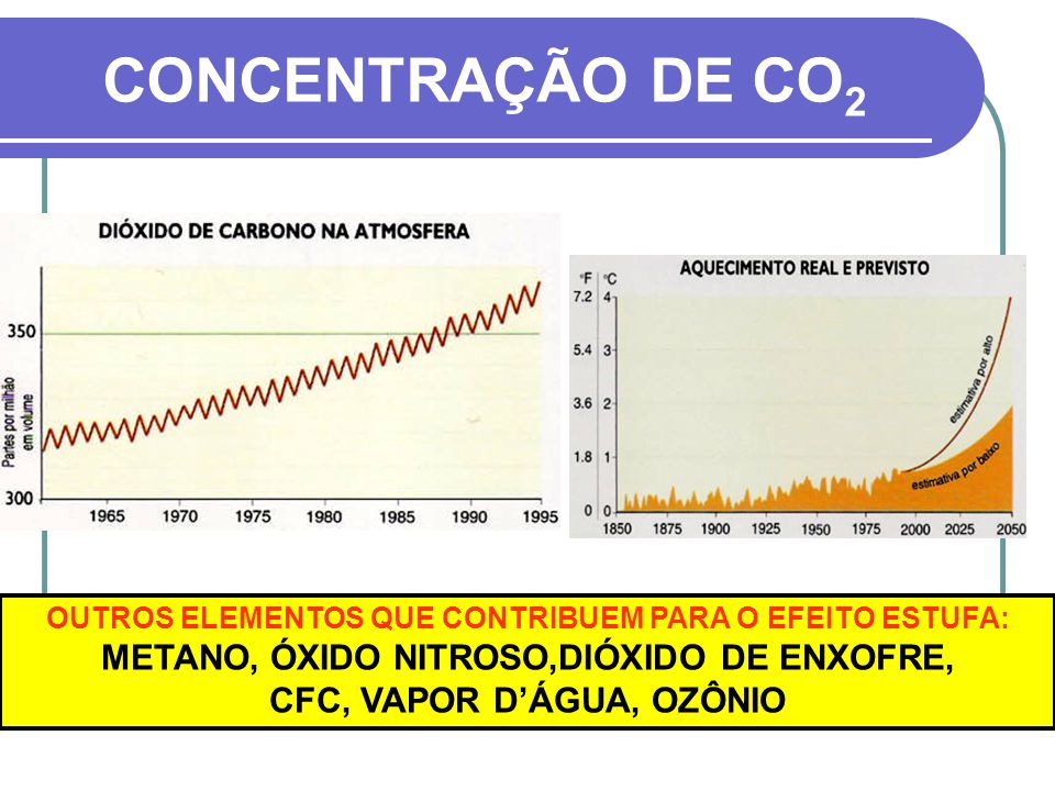 CONSEQÜENCIAS DO EFEITO ESTUFA Elevação do nível dos mares provocada por: - dilatação térmica da massa de água oceânica.