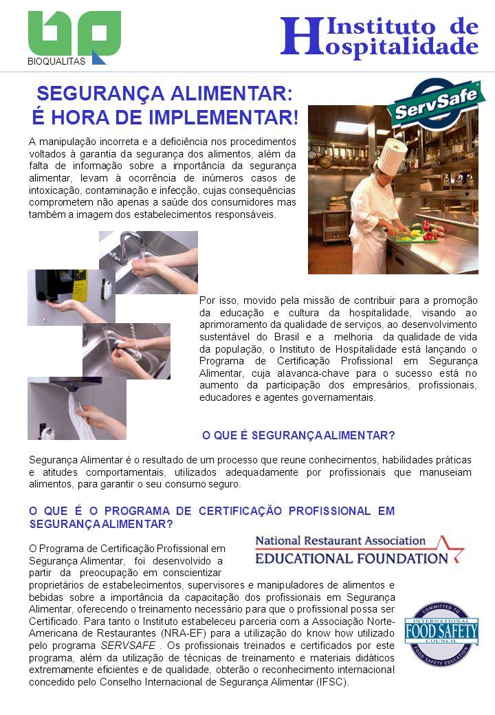 A manipulação incorreta e a deficiência nos procedimentos voltados à garantia da segurança dos alimentos, além da falta de informação sobre a importân