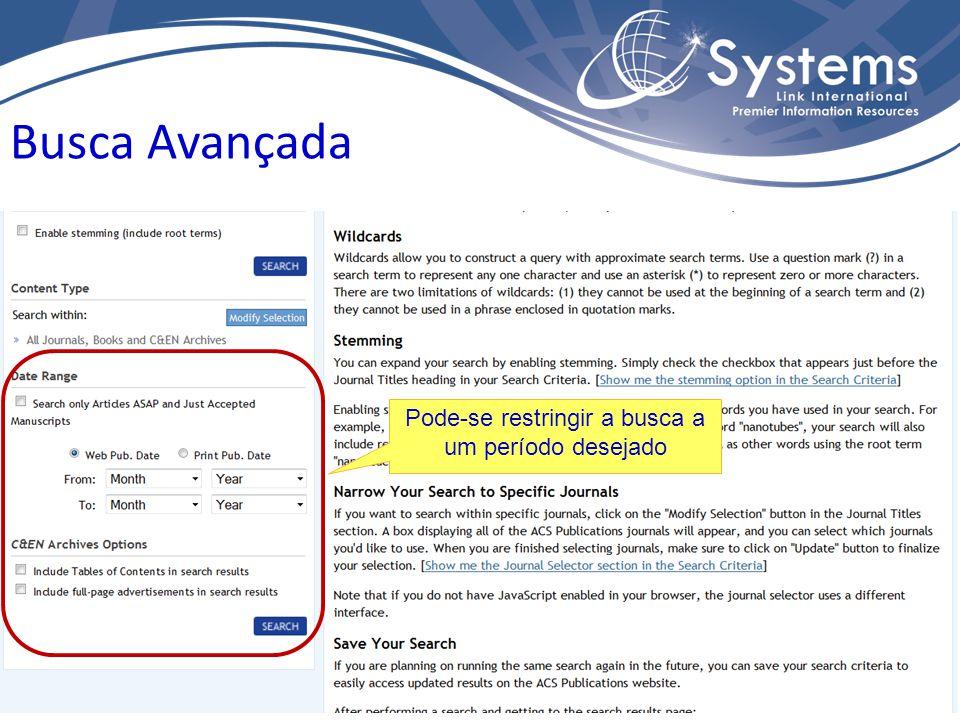 Selecionar como exibir os resultados: Relevância Data Tipo de manuscrito Título do Artigo Sobrenome do primeiro autor listado Ferramentas para refinar a lista de resultados Resultados