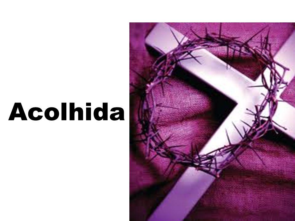 ele tomou o pão, deu graças e o partiu e deu a seus discípulos, dizendo: Oração Eucarística II