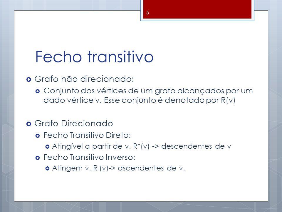 Fecho Transitivo Direto 6
