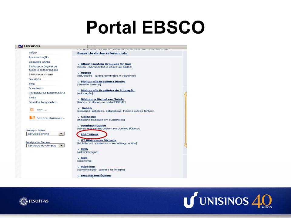 Portal EBSCO