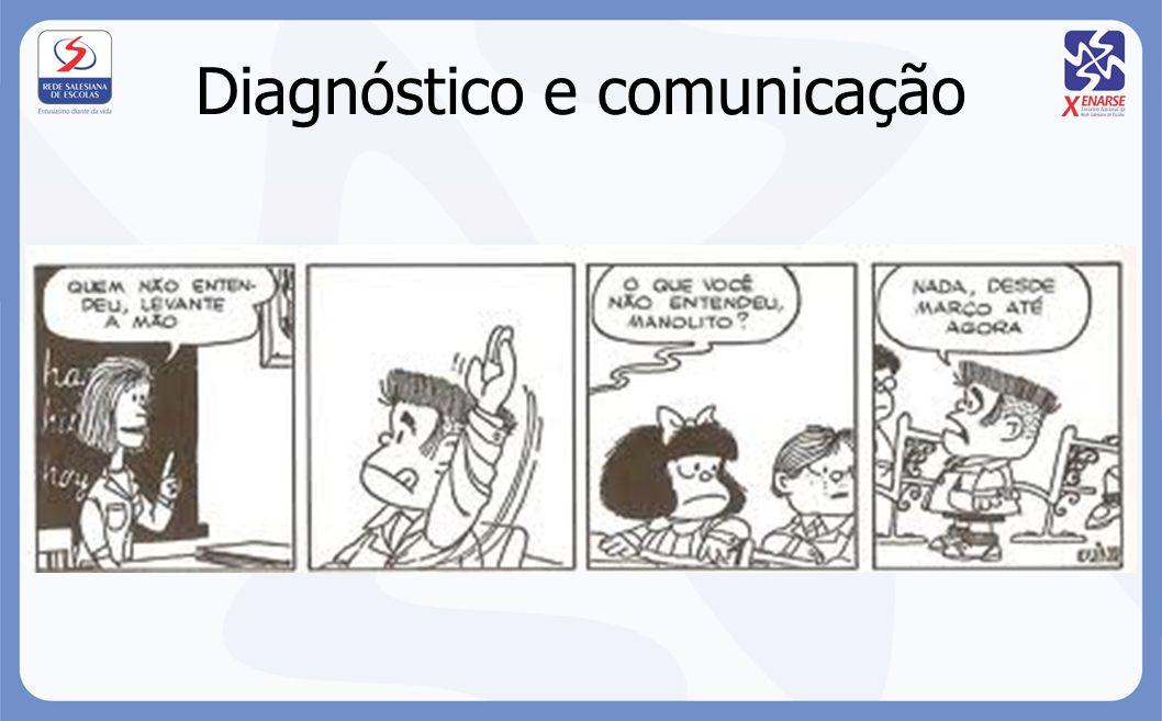 Diagnóstico e comunicação