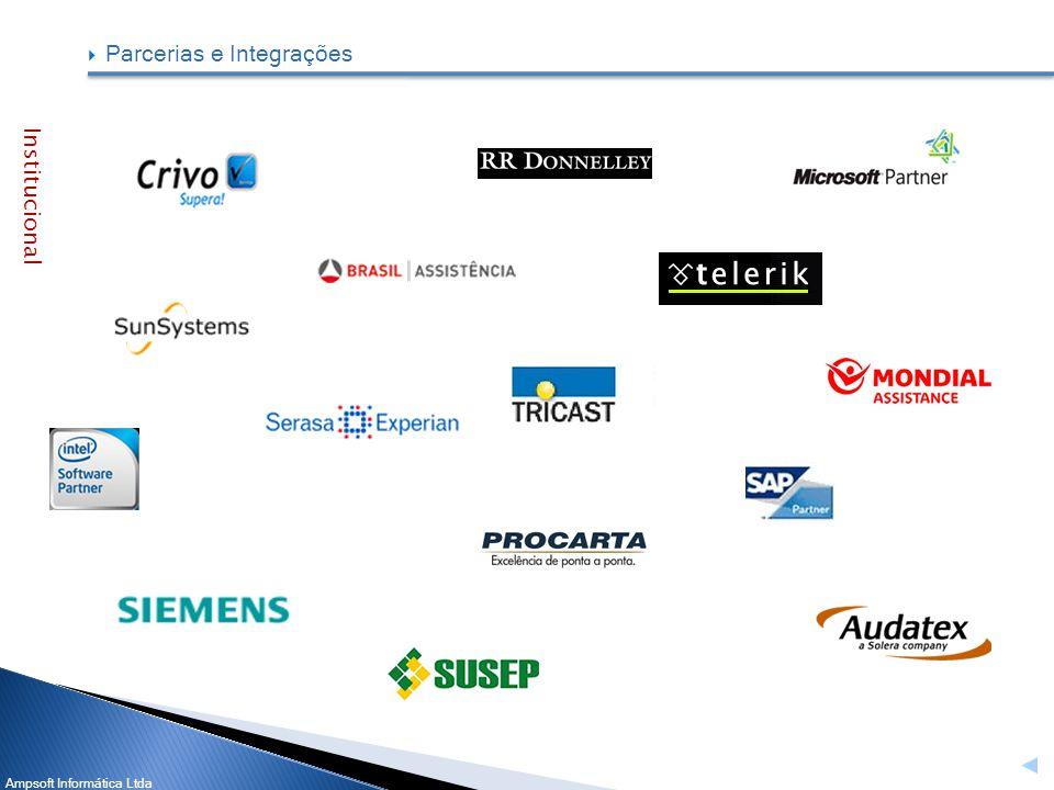 Ampsoft Informática Ltda Institucional Parcerias e Integrações