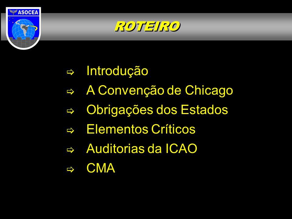 AUDITORIAS DA ICAO Resultados do 2º ciclo USOAP