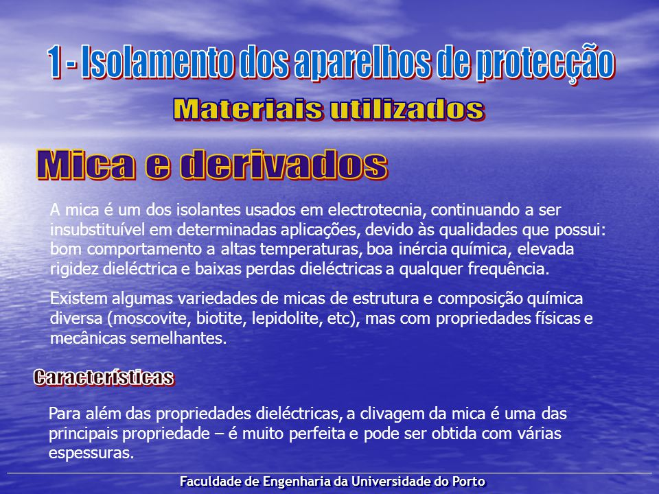Faculdade de Engenharia da Universidade do Porto Hoje em dia, graças ao desenvolvimento das ligas metálicas, é possível encontrar uma vasta gama de opções no fabrico de contactos eléctricos.