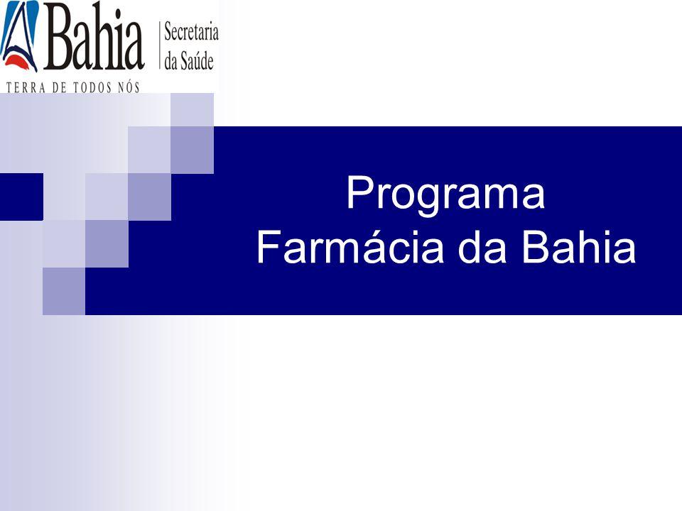 Programa Farmácia da Bahia